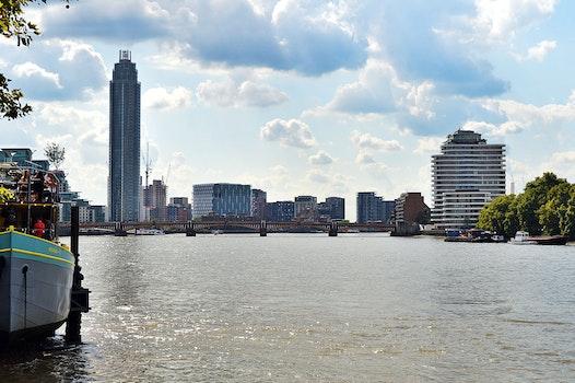 Free stock photo of city, sky, landmark, water