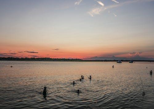 Photos gratuites de coucher de soleil, eau, plage, sainte-augustine