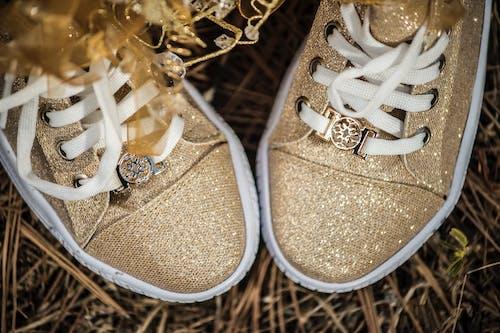 Foto profissional grátis de calçados, close, flatlay