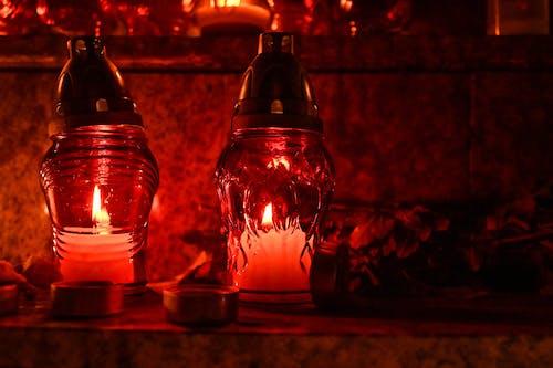 Kostenloses Stock Foto zu beleuchtet, feuerlampen, nahansicht