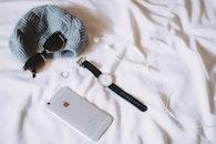 sunglasses, iphone, technology