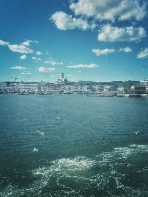Free stock photo of by the sea, capital, Finland, Helsinki
