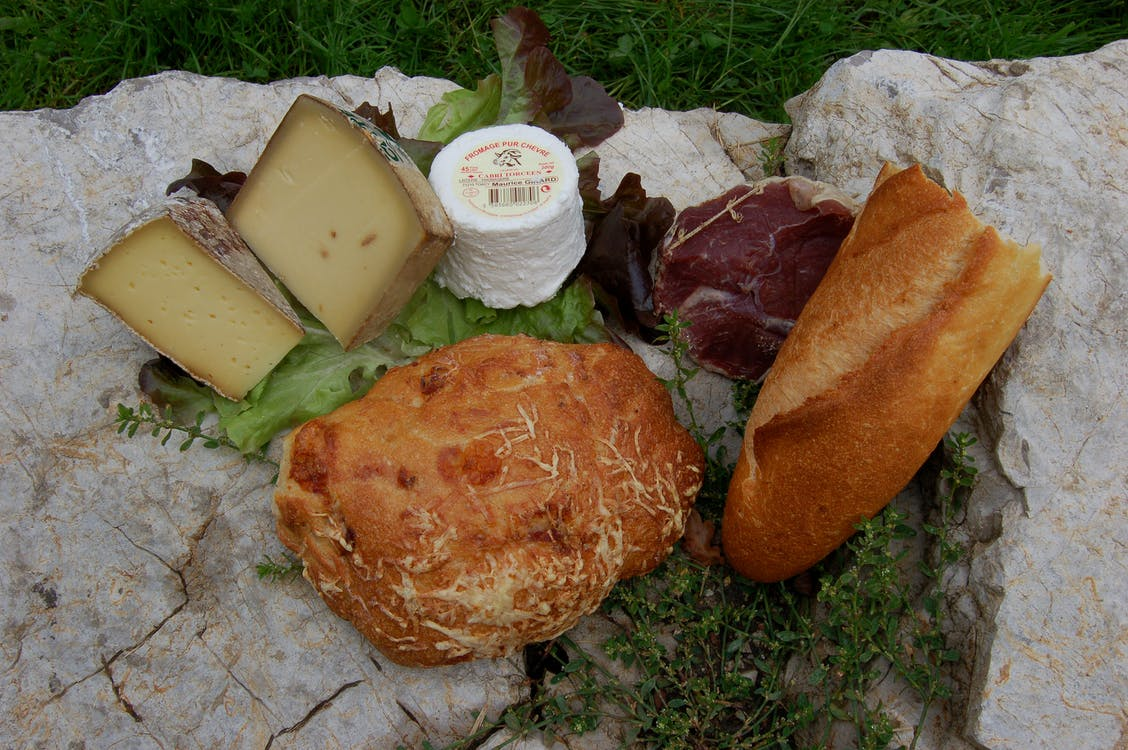 jedlo, syr
