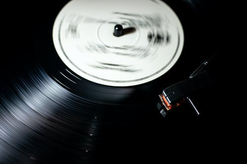 Photo Of Playing Vinyl Record