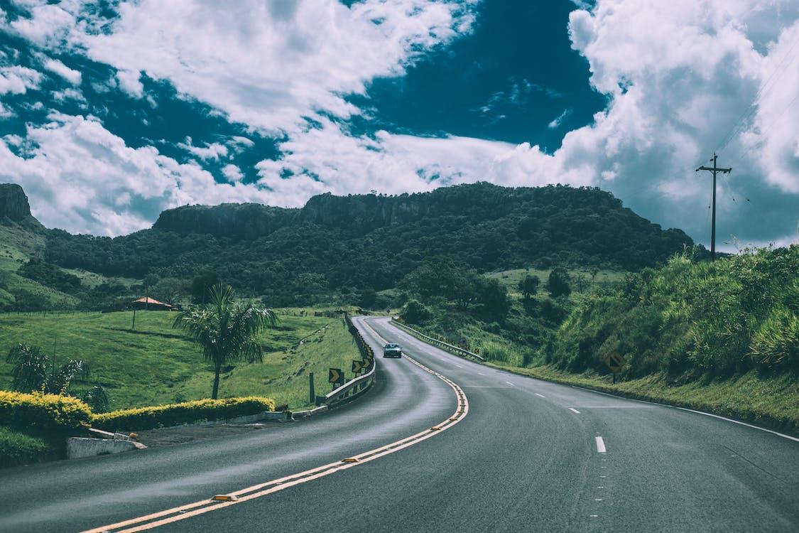 フィールド, 山岳, 田舎の無料の写真素材
