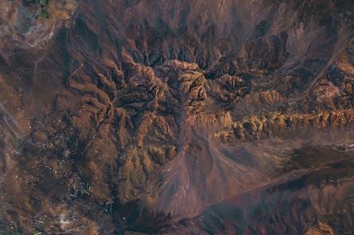 Rough rocky hills in semi desert terrain