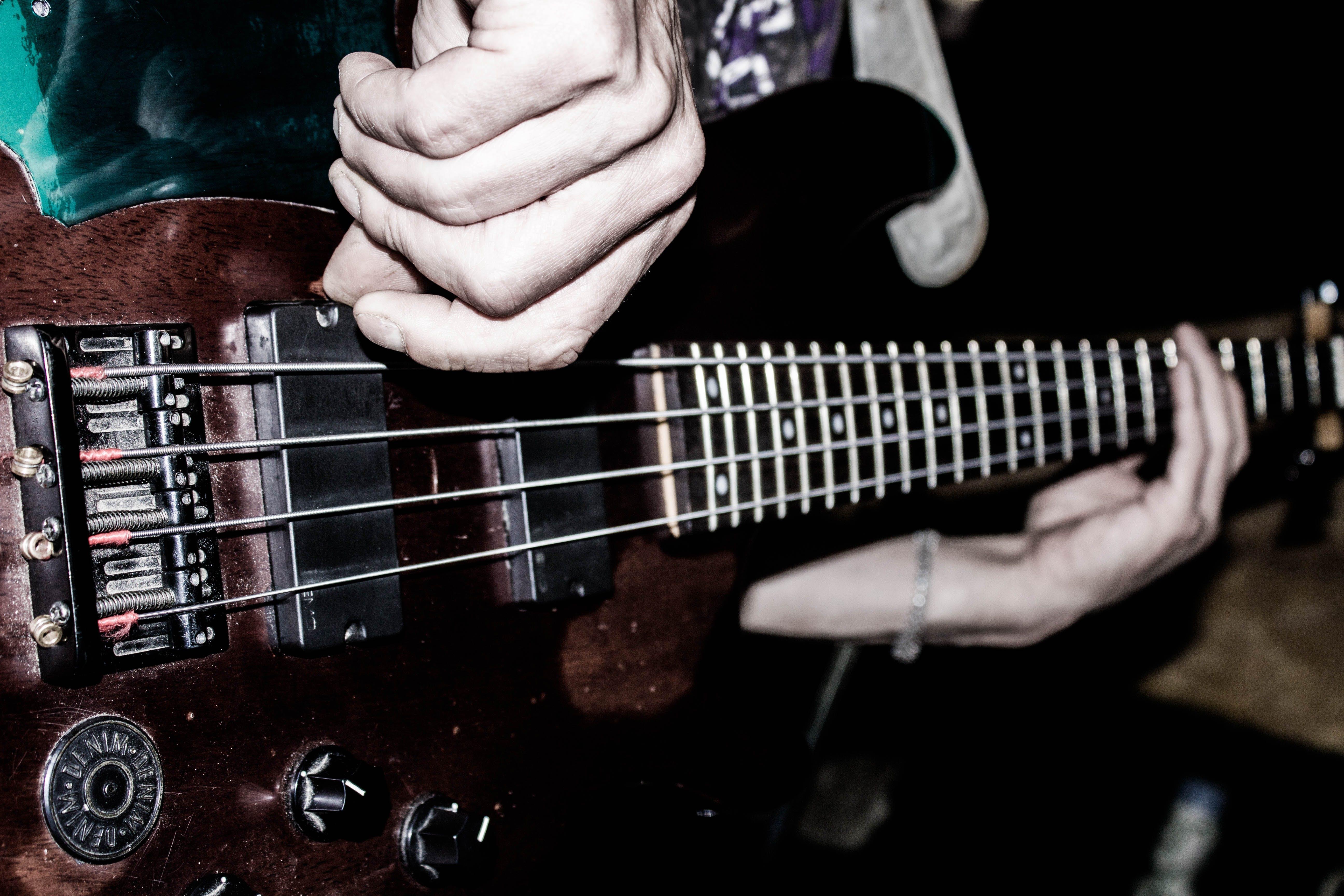 Free stock photo of bass, bass guitar, blues, concert