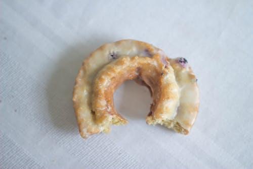 Gratis arkivbilde med blåbær, donut