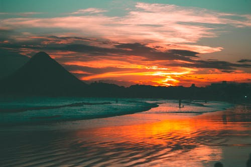 Free stock photo of beach, beach sunset, journey, ocean