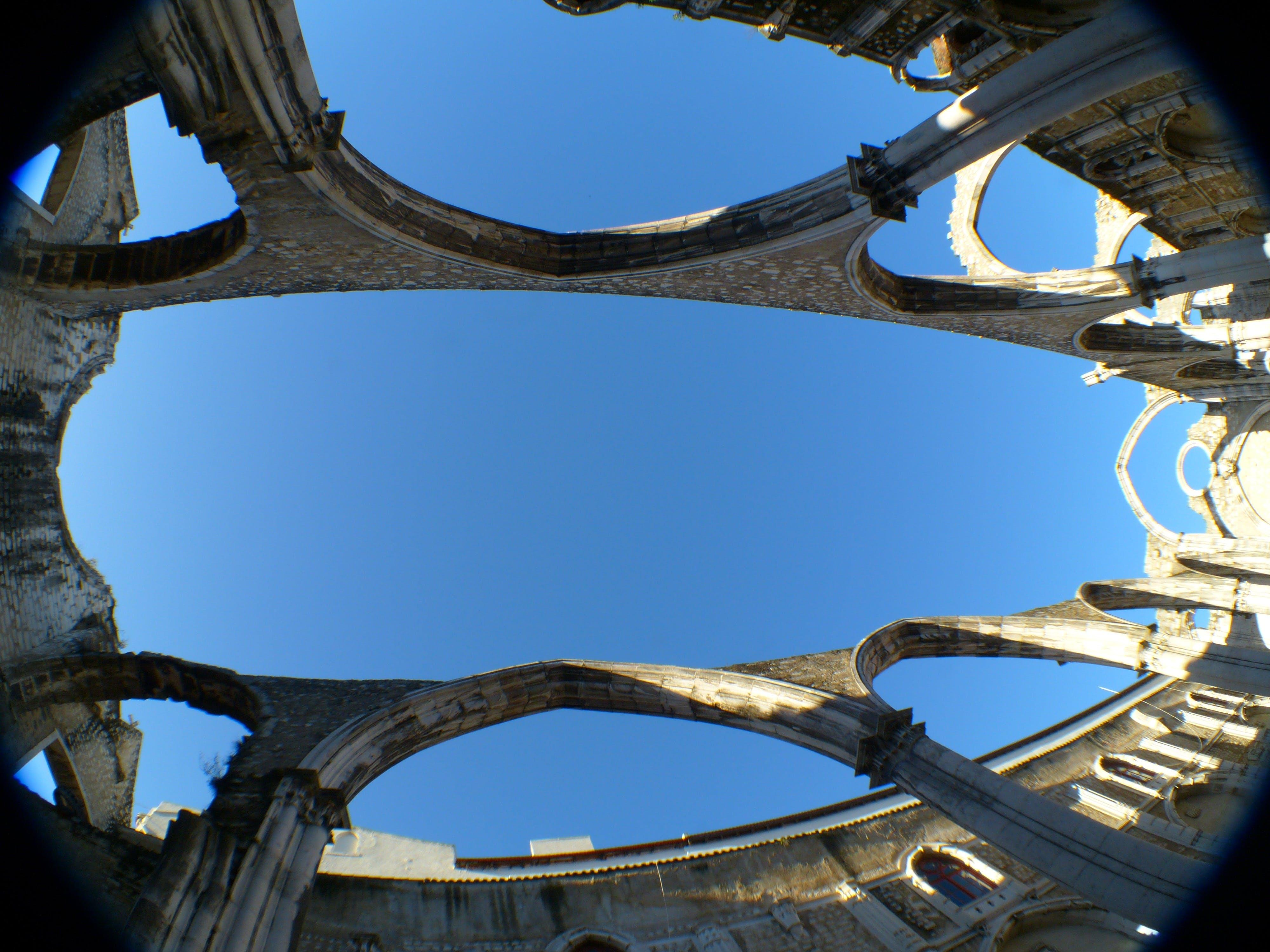 Free stock photo of blue, carmelite order, columnar, convento do carmo