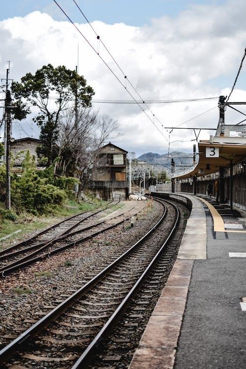 Empty Railway Station