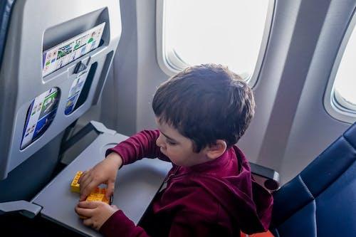 Fotos de stock gratuitas de aeronave, angulo alto, asiento