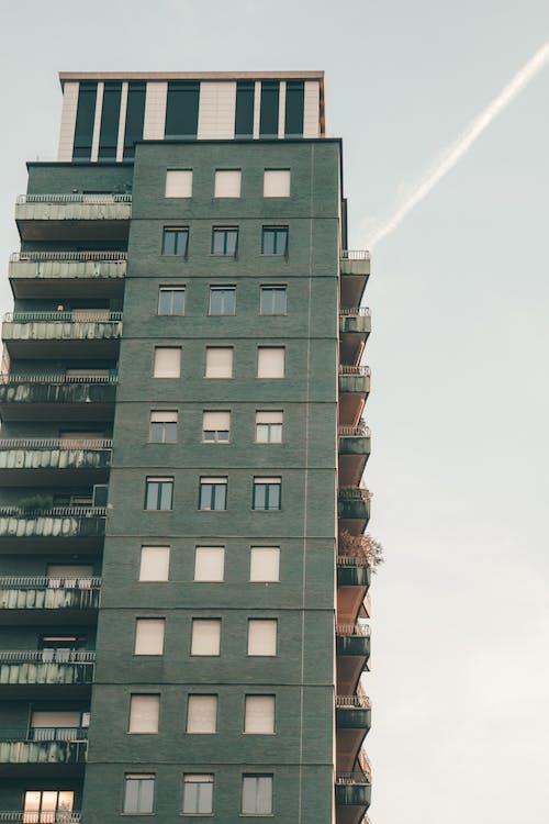 Fotobanka sbezplatnými fotkami na tému budova, tvarov a vzorov, zelená voda