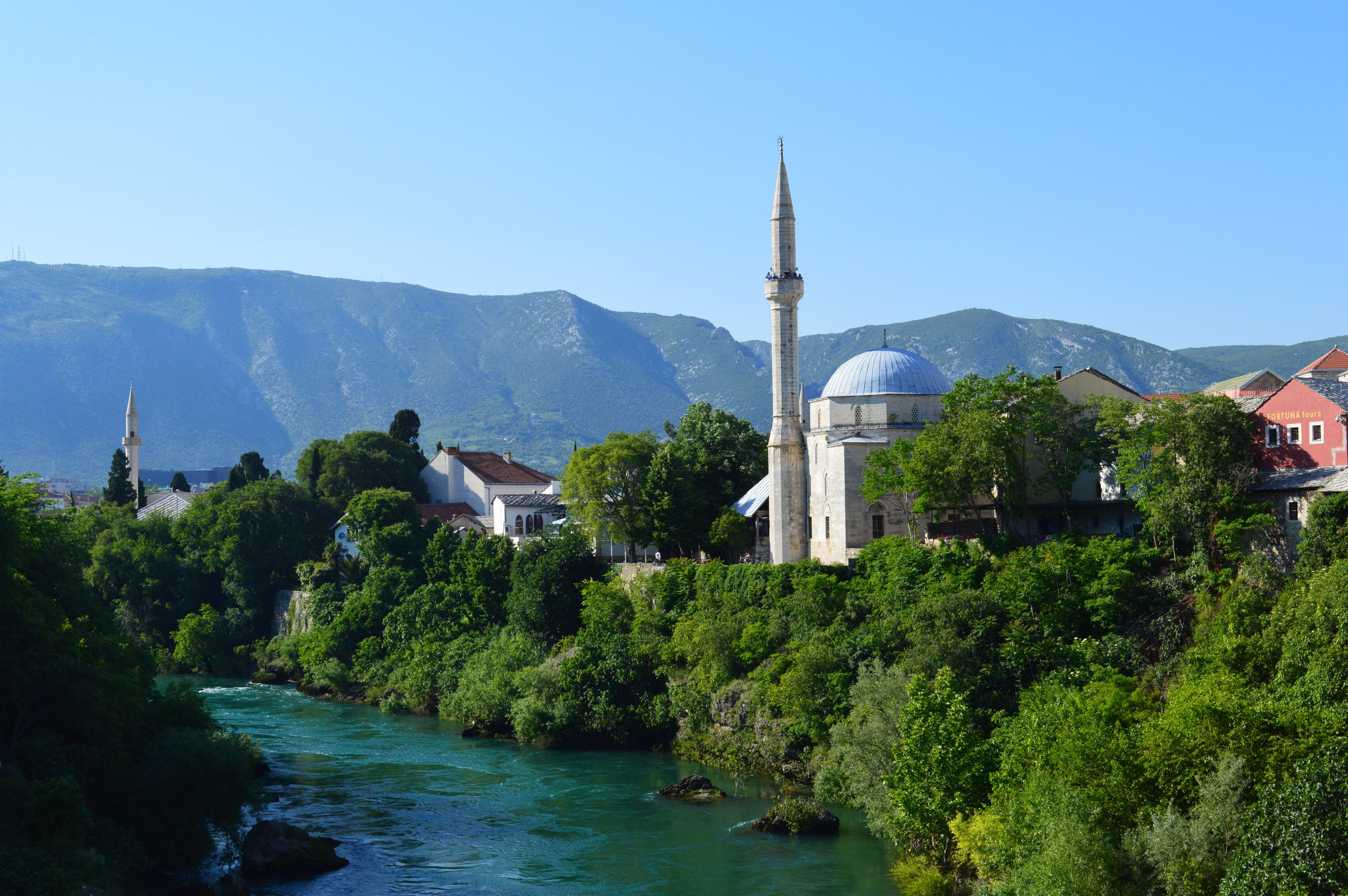 Free stock photo of Bosnia, islam, mosque, mostar