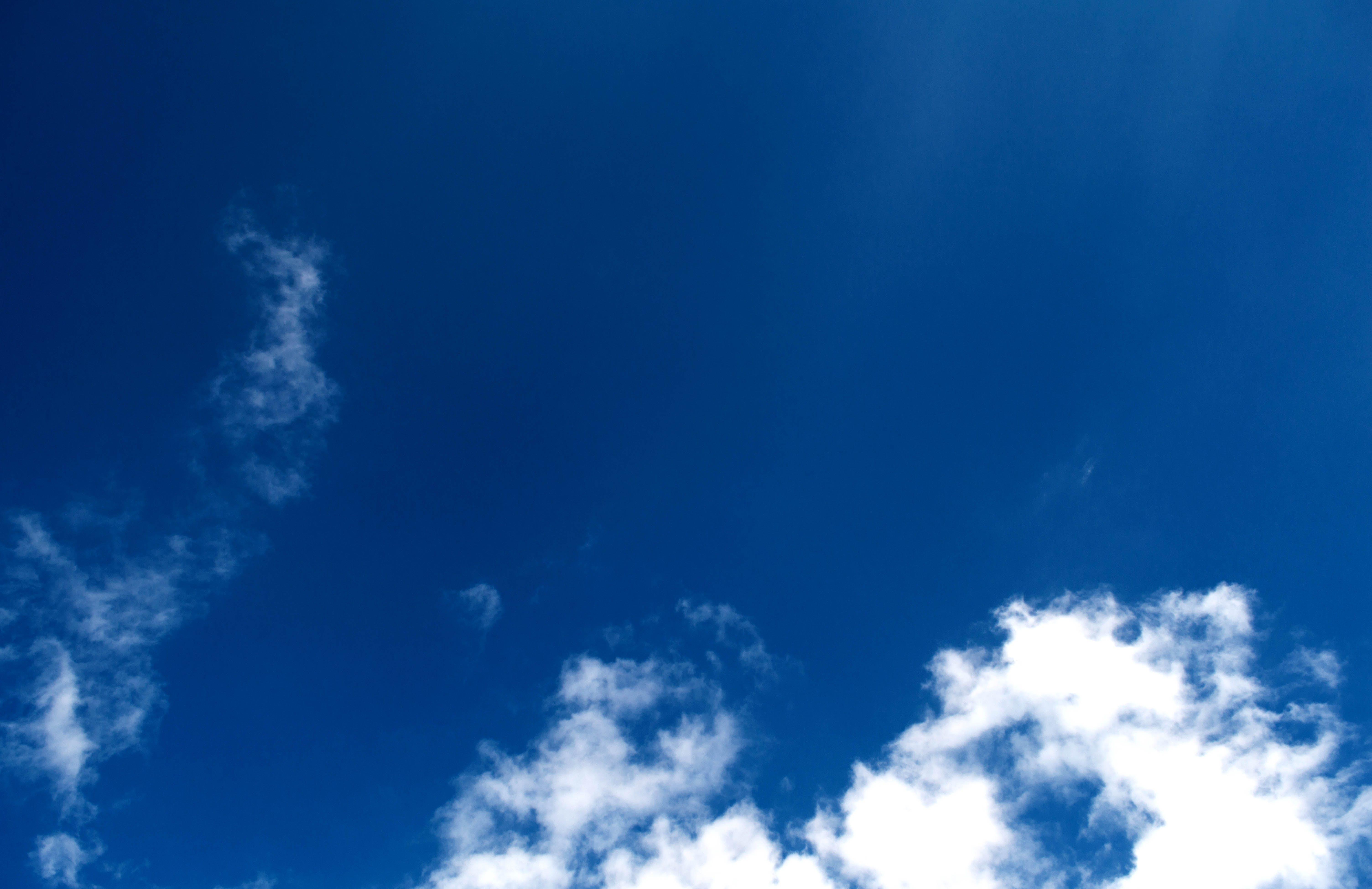 White Clothes Under Blue Sky