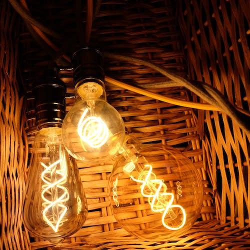 Foto profissional grátis de lâmpadas de filamento led ledsupermarket.com
