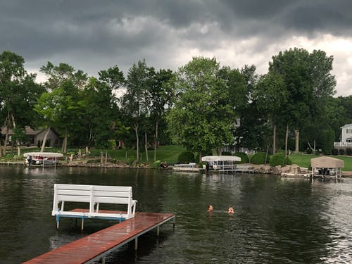 Free stock photo of lake wisconsin