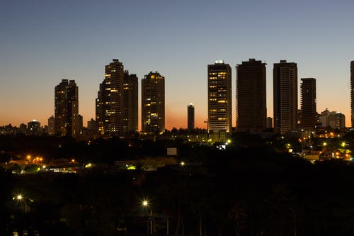 Gratis stockfoto met cidade, nacht, noite, plaats