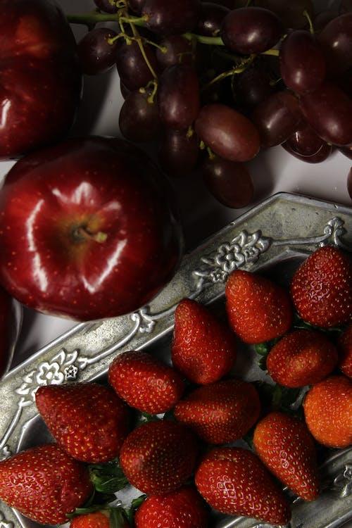 Close-Up Shot of Antioxidant Fruits