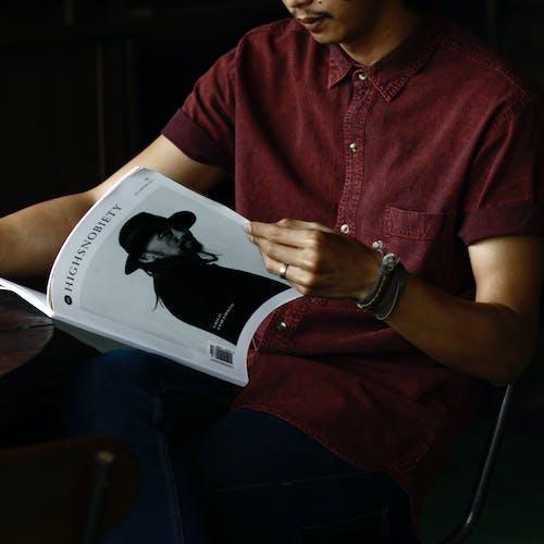 Fotobanka sbezplatnými fotkami na tému časopis, čítanie, highsnobiety, informácie