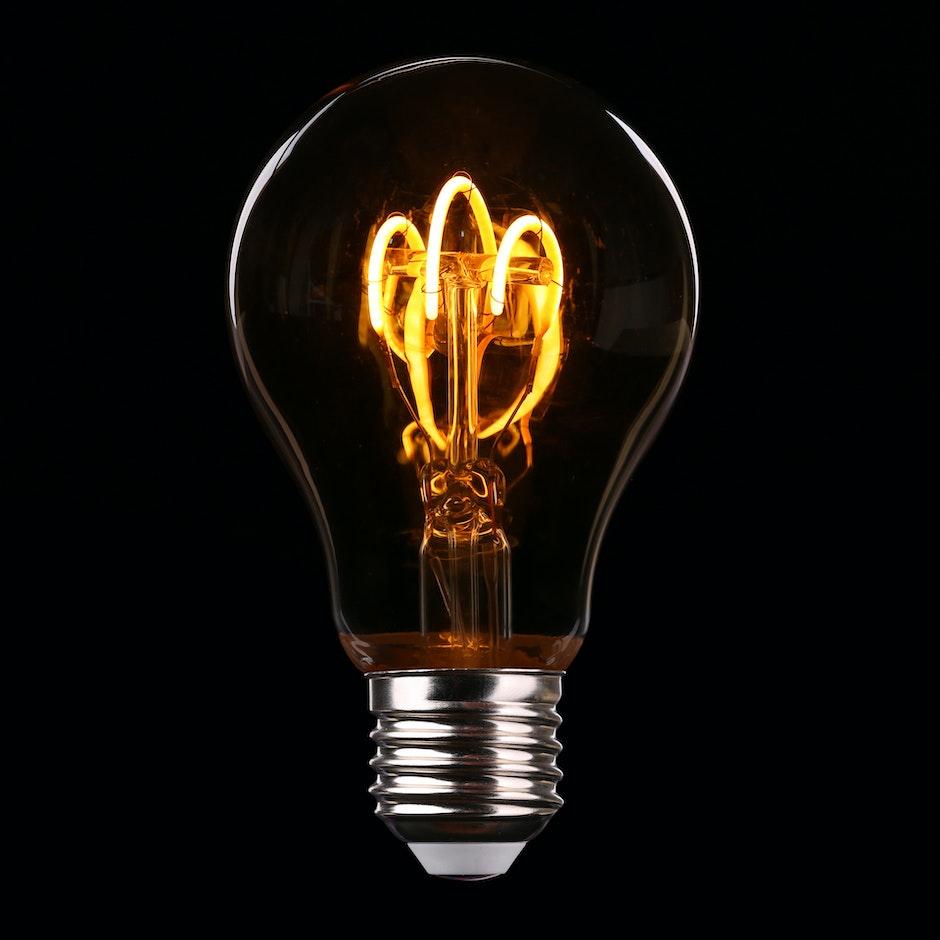 bulb, close-up, electricity