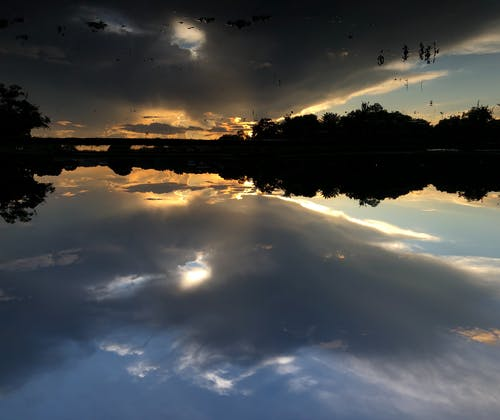 Free stock photo of cloud, nature, sunrise