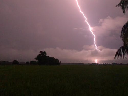 Free stock photo of lightning