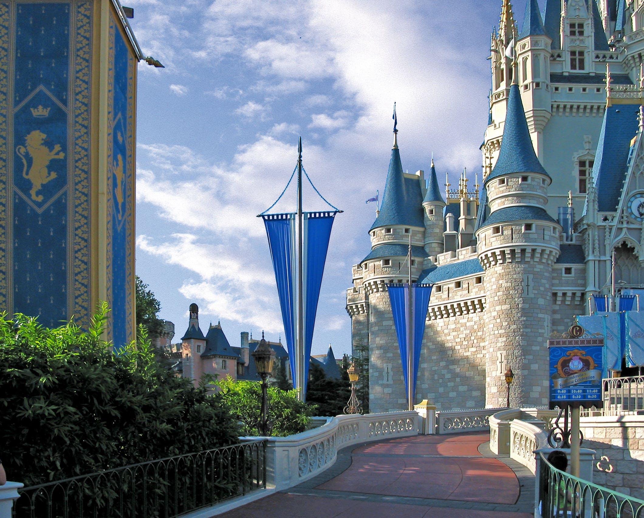 Free stock photo of cinderella's castle, disneyworld, orlando
