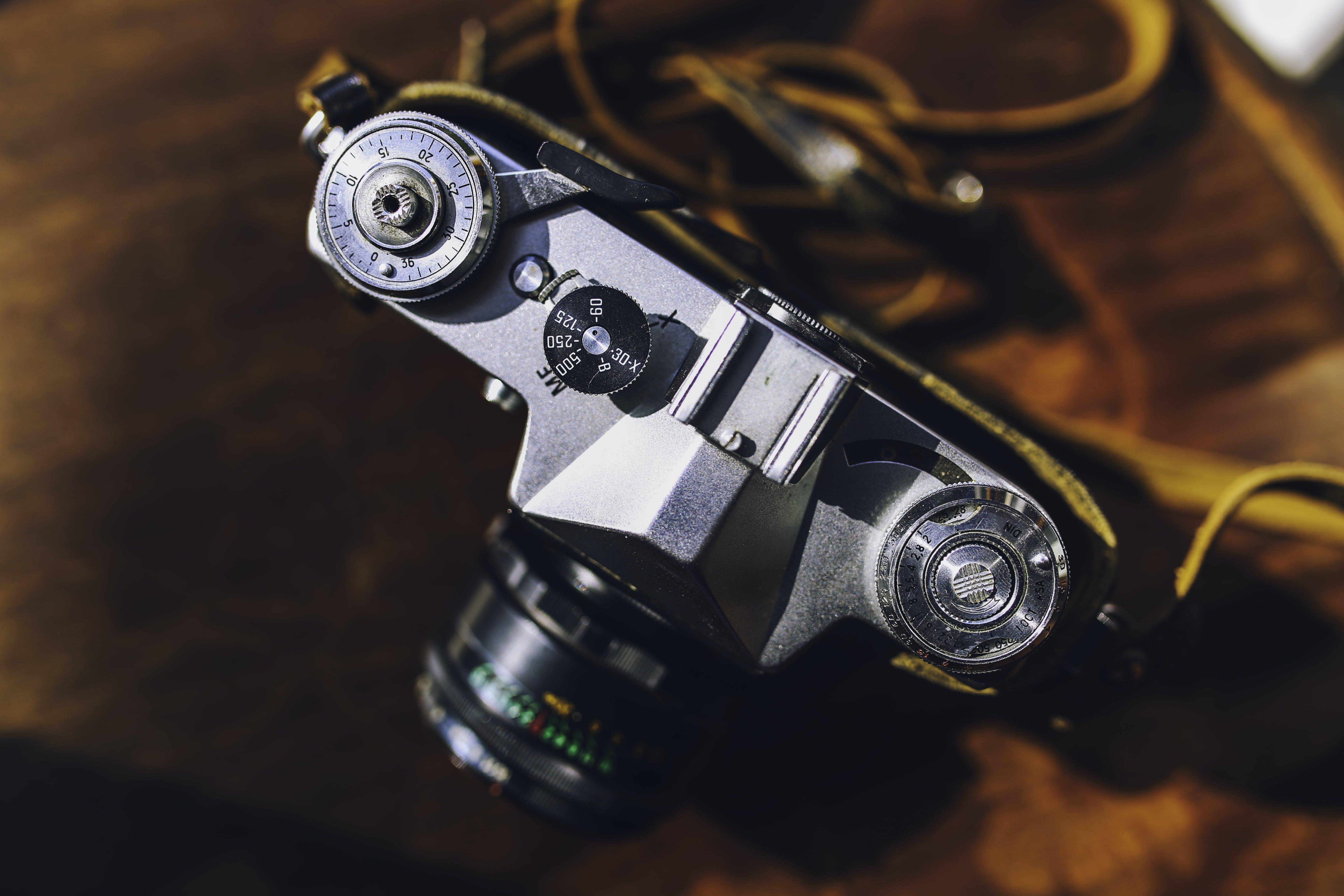 Ingyenes stockfotó analóg, fényképezőgép, múltidéző témában