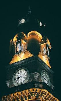 Free stock photo of light, landmark, night, building