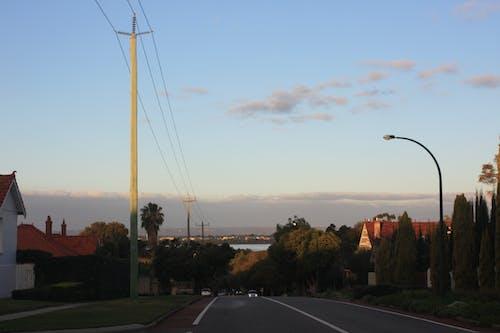 Free stock photo of road, street, sunset