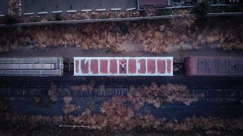 Foto profissional grátis de abandonado, aéreo, antena, ao ar livre