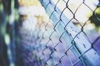 metal, fence, steel