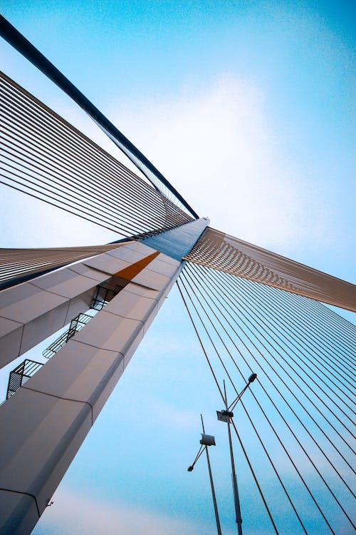 Gray Concrete Building Under Blue Sky