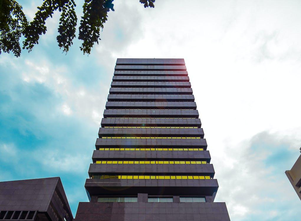 Asie, beton, budova