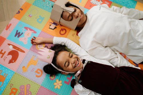 Siblings Playing as Knight and Princess