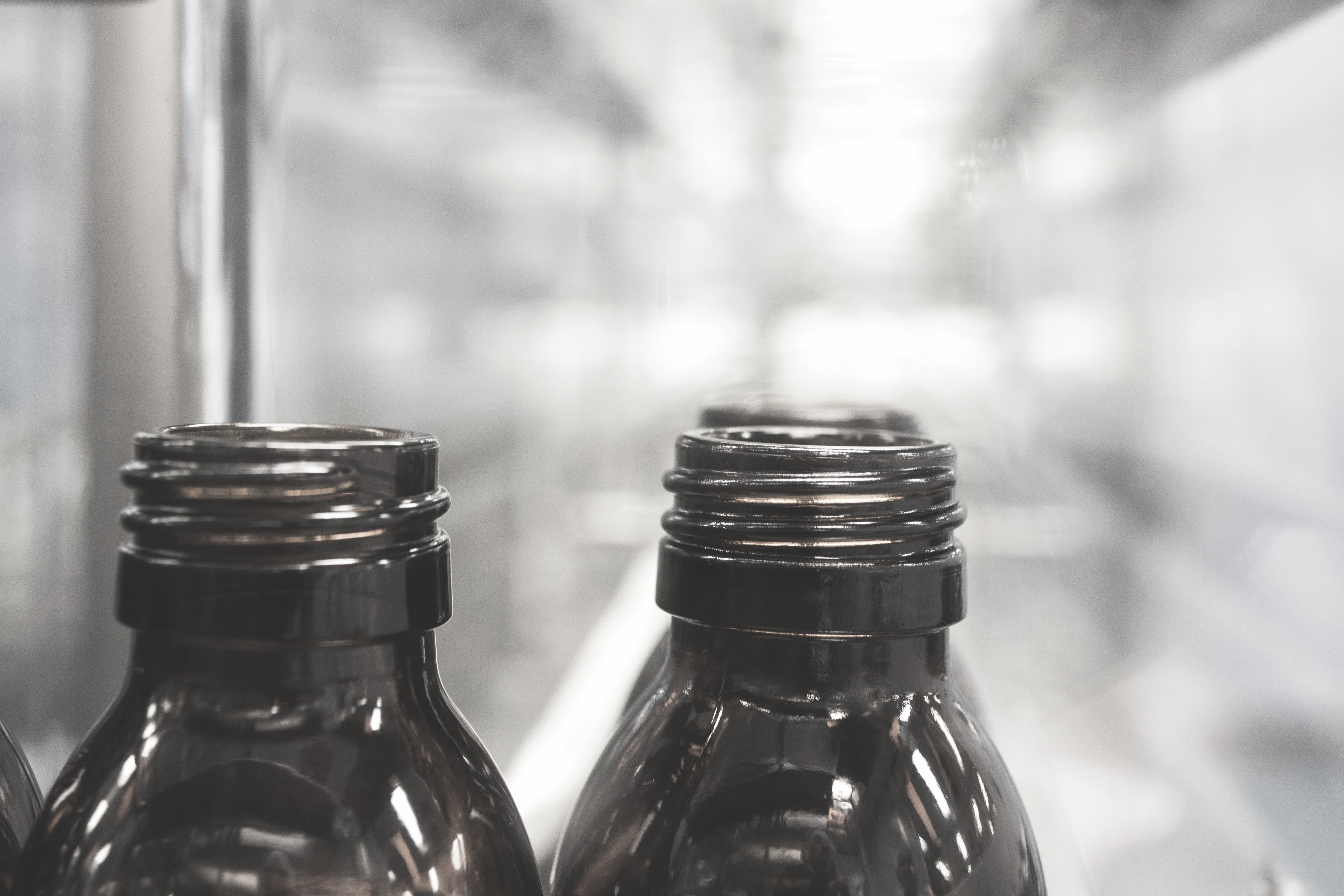 Free stock photo of bottles, factory