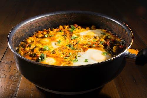 Kostenloses Stock Foto zu abendessen, curry, diät, eier
