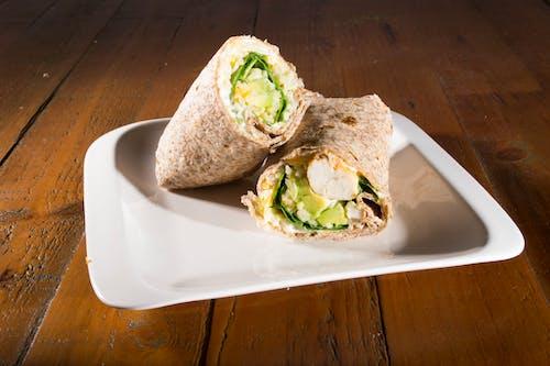 Kostenloses Stock Foto zu avocado, diät, gesund, hähnchen