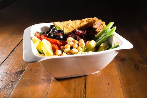 Kostenloses Stock Foto zu diät, gesund, regenbogen, salat