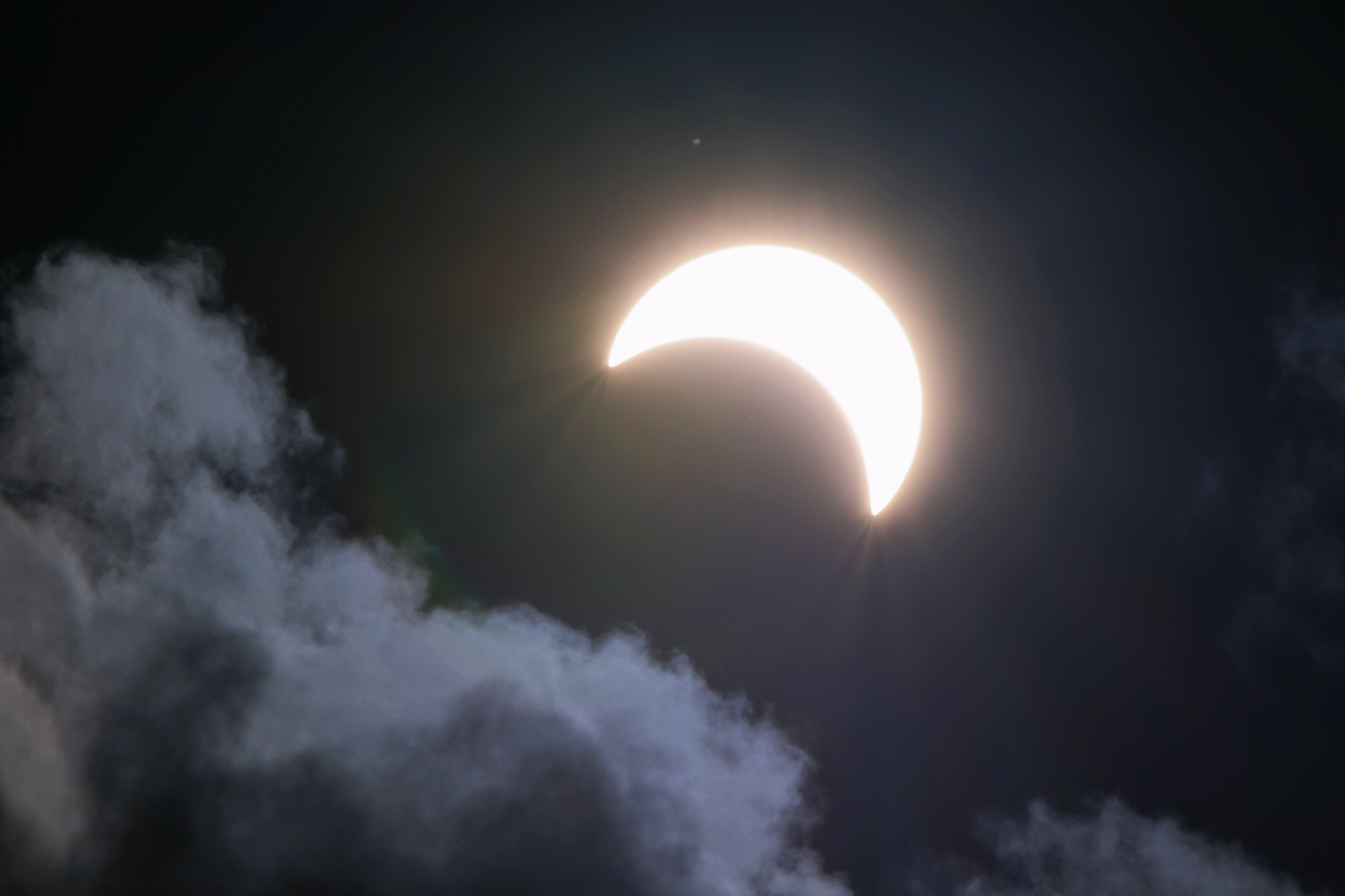 คลังภาพถ่ายฟรี ของ จันทรา, ดาราศาสตร์, ท้องฟ้า, ธรรมชาติ