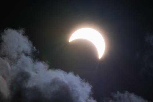 Základová fotografie zdarma na téma astronomie, jasný, lehký, luna