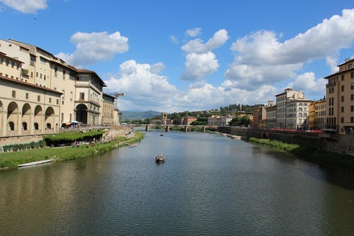 The Arno River in Italy