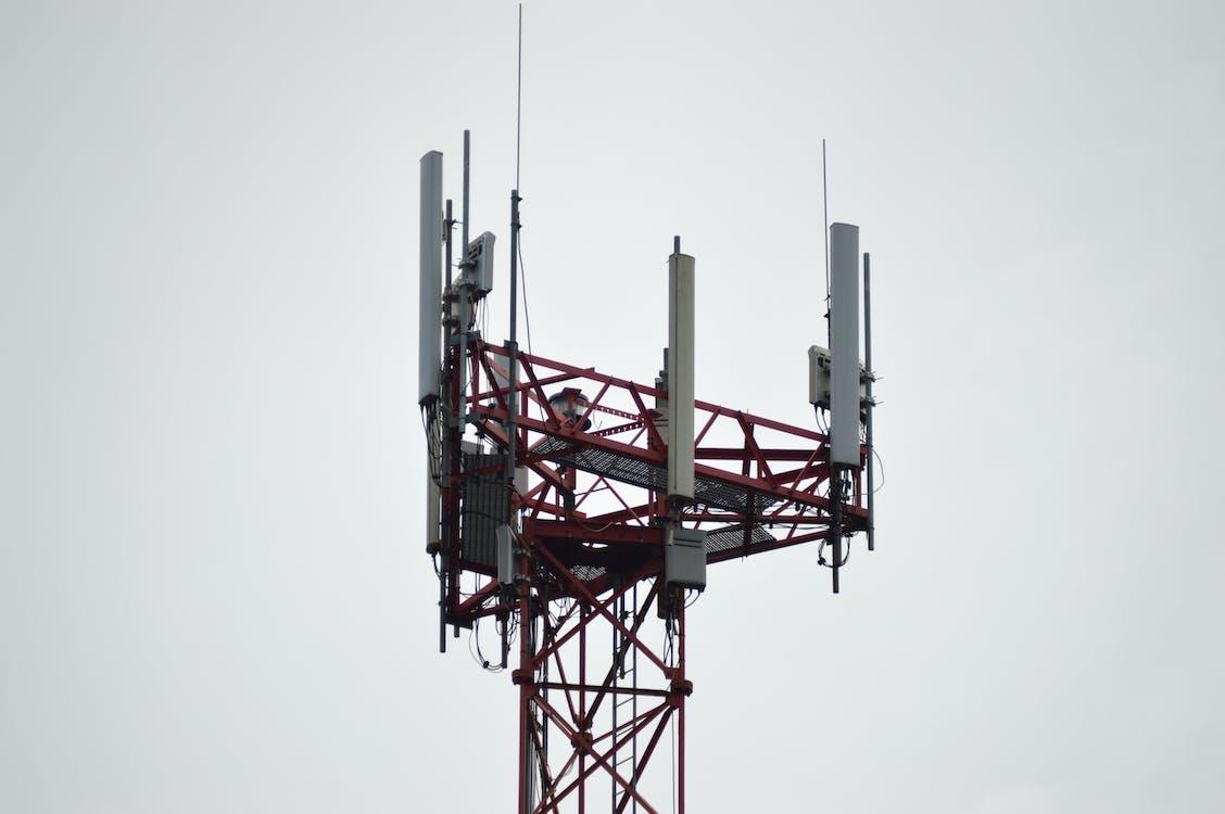 Kostnadsfri bild av antenner, celltornet, förbindelse