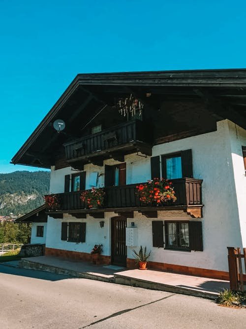 Immagine gratuita di balconi, bungalow, casa