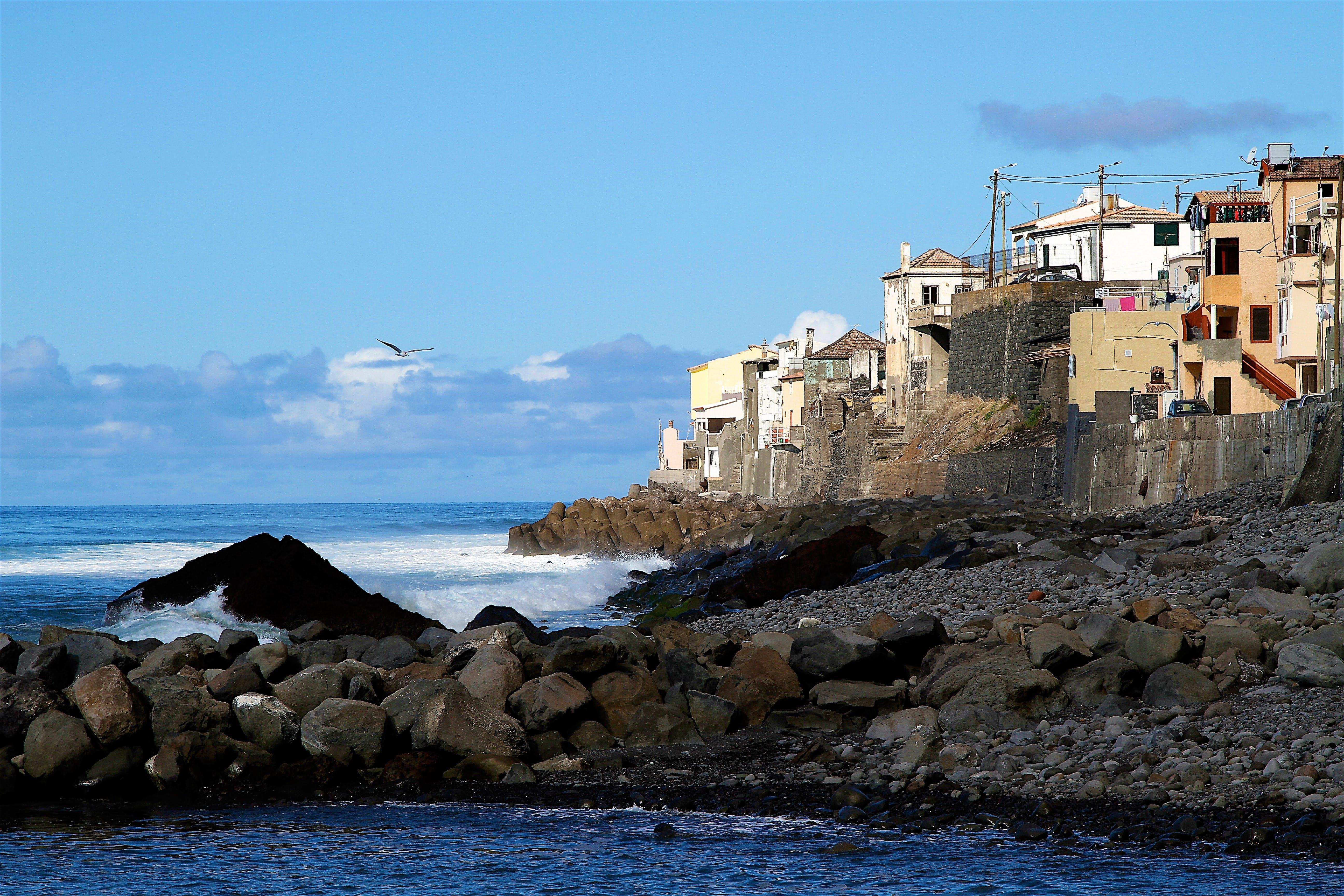 Gratis lagerfoto af gammel by, kyst