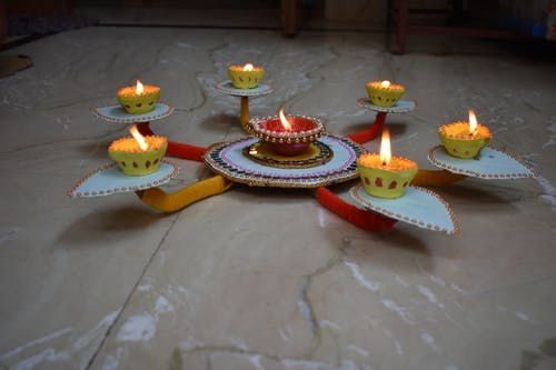 Free stock photo of colours festival, decorations, dipawali
