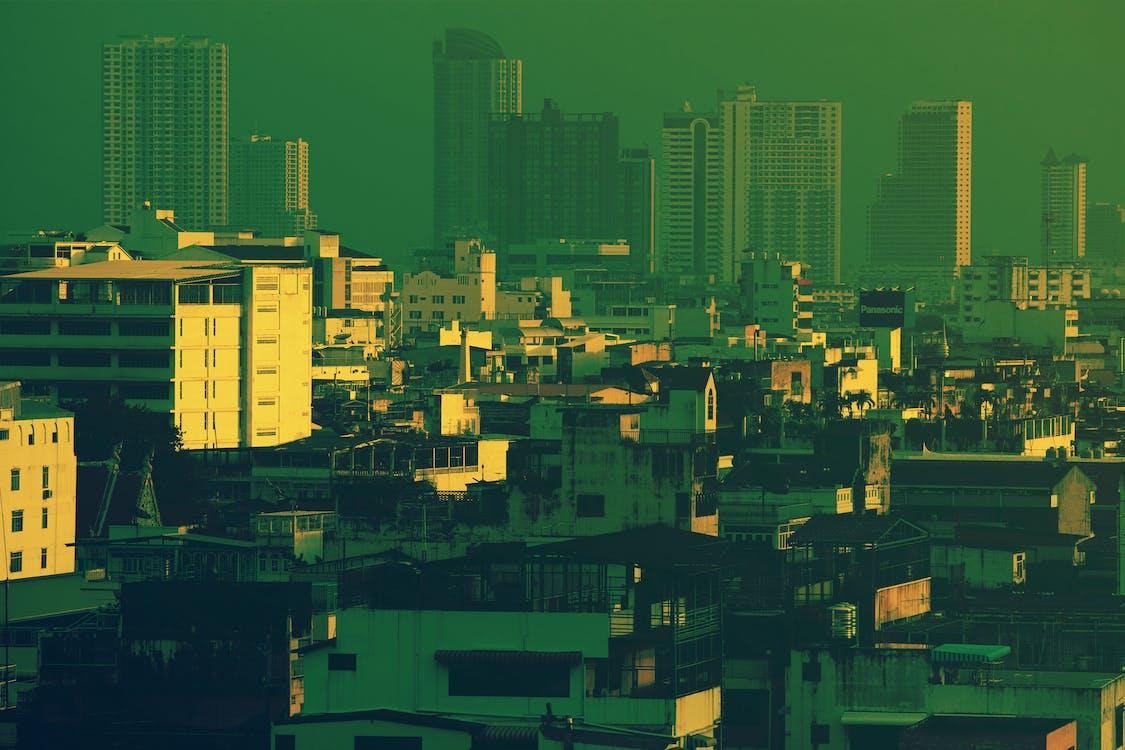 architectuur, Bangkok, binnenstad
