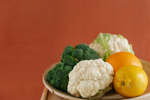 A Close-Up Shot of Fresh Fruits and Vegetables