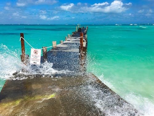 Gratis lagerfoto af bølge, cancun, farverig, ferie